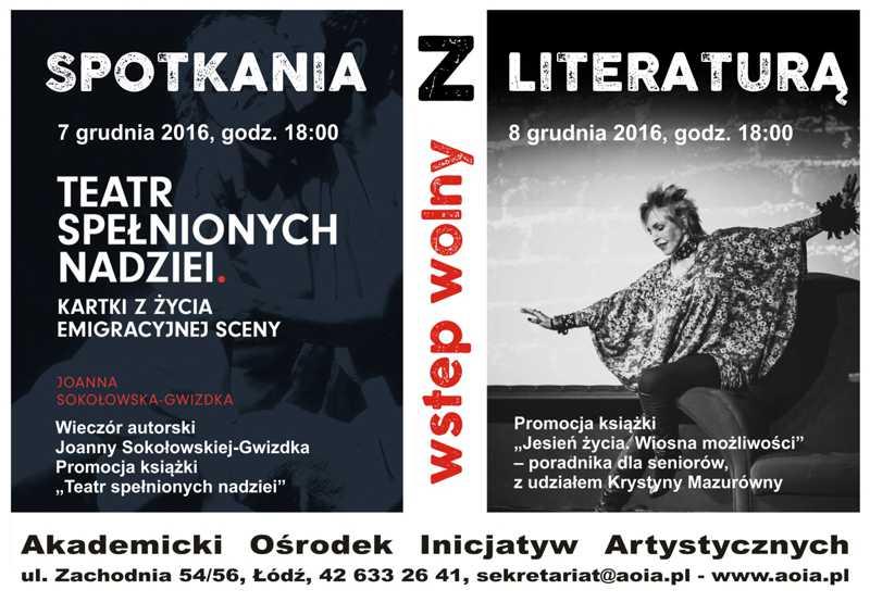 Wieczór autorski Joanny Sokołowskiej-Gwizdka