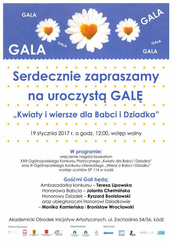 Gala Kwiaty I Wiersze Dla Babci I Dziadka