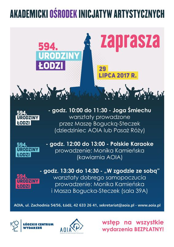 594 urodziny Łodzi