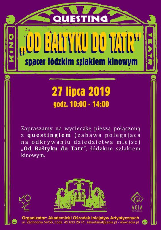 """""""Od Bałtyku do Tatr"""""""