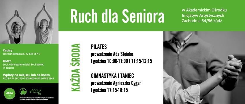 RUCH SENIORA BANER